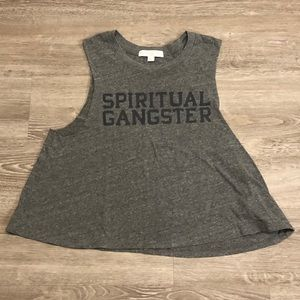 Spiritual Gangster Crop Muscle Tank